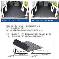 【送料無料】リバーシブルカーゴマット<スバルサンバーS321/S331B>栄和産業REV-2-1/カーマット/荷台マット/自動車