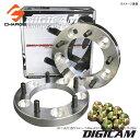 ジムニーJA系 / JB23(1〜7型) DIGICAM[デジキャン]鍛造ワイドトレッドスペーサーP.C.D139.7-5H-1.25-30mm