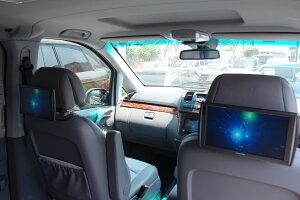 リアモニター(ツインモニター)アルパインリアモニター取付施行一式カーナビ取付施工車両オプションモニター2台/取付キット含むビデオデパイダー含む車種モデルにより異なりますので最終的には現車確認が必要となります。