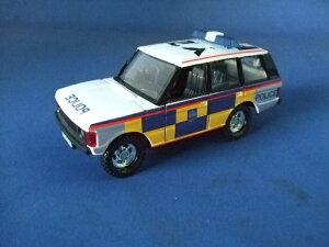 ミニカー クラシックレンジローバー 1/43 POLICE