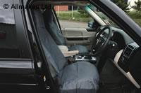 シートカバー1台分(防水タイプ)UK社外製COVERKING社製ランドローバー各車レンジローバー各車