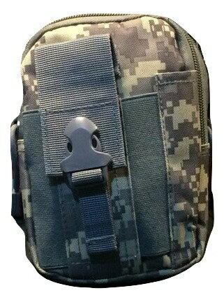 迷彩柄 ミニタリーポーチ バッグ カモフラ iqos スマホ iphone 小物入れ キーケース サバゲー 自衛隊 軍隊 収納 ポケット 柄 ベルト