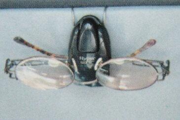 必需品 サングラスホルダー(眼鏡)type5サンバイザーに サングラスクリップ ブラック ウッド調 カーボン調 黒 木目 レイバン オークリー 車 車内