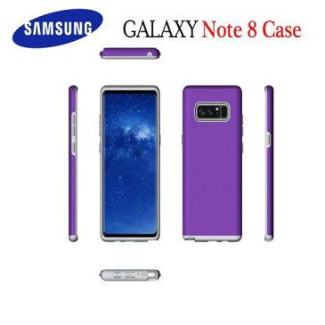 AL サムスン Note8 ケース カバー バックハード ラグジュアリー 衝撃吸収 ハイブリッド アーマー 電話 ケース PC + TPU 2インチ1 サムスン Galaxy Note8 S8プラス 選べる4カラー 選べる3適用品 AL-AA-1254
