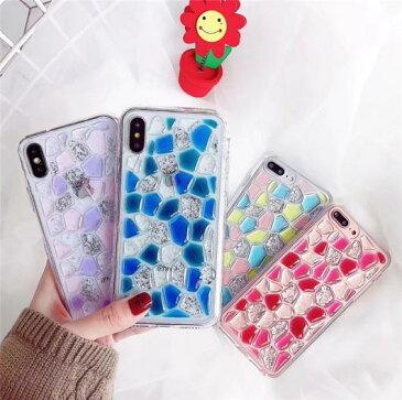 AL スマートフォンケース カラー ネイルポリッシュ大理石ケース iPhone 6Plus/6sPlus 7Plus 8Plus iPhoneX ラグジュアリー ファッション3Dケースソフト 背面 カバー ケース 選べる4カラー 選べる4適用品 AL-AA-2170