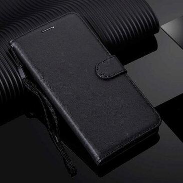 AL スマホケース ソリッドカラー 携帯 電話 ケース フリップ カバー 選べる6カラー ブラック,レッド,ブルー,パープル,ピンク,ブラウン 選べる12適用品 AL-AA-8256