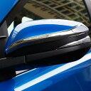 AL ドア ミラー ABS クローム ストライプ トリム トヨタ ヴォ...