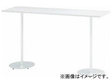 イトーキハイテーブル(角型)1800×500×1000TRA-185HH-W998(7730748)