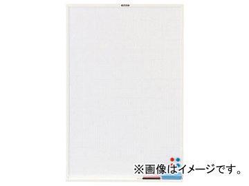 トラスコ中山スチール製ホワイトボード白暗線白900×600WGH-32SAW(7730322)