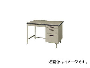 トヨスチール 片袖デスク(旧JISタイプ) 100G-871N(7870736):オートパーツエージェンシー