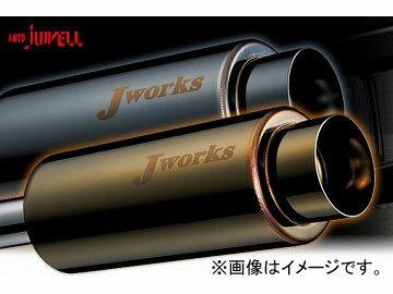 Jworks/ジェイワークス マフラー N1Street Black&Gold ダイハツ MAXターボ L950 EF