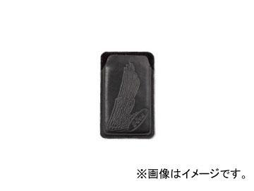 2輪 ホンダライディングギア ヌメ革スマートフォンケース ブラック 0SYEP-R93-KF