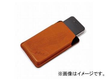 2輪 ホンダライディングギア ヌメ革スマートフォンケース ブラウン 0SYEP-R93-TF