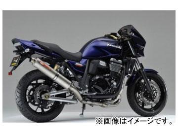 2輪ヤマモトレーシングspec-AマフラーTI4-2-1UP-TYPEチタン品番:41202-21TTRカワサキZRX1200DAEG2009年