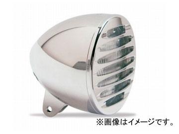 2輪EASYRIDERSARLENNESS5-3/4inブレットヘッドライトW/DEEPカットグリル付クローム品番:AN4962JAN:4548632155614