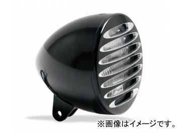 2輪EASYRIDERSARLENNESS5-3/4inブレットヘッドライトW/DEEPカットグリル付ブラック品番:AN4963JAN:4548632155621