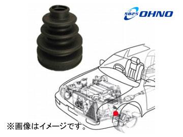 大野ゴム/OHNO 非分割式 ドライブシャフトブーツ インナー側左側(フロント) FB-2068 マツダ/MAZDA カペラ ファミリア ユーノスプレッソ AZ-ワゴン