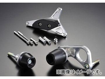 2輪アグラスリアスライダー3点セットジェネレータ品番:P052-3125ブラックスズキGSX-R6002008年~2009年JAN:4548664833245