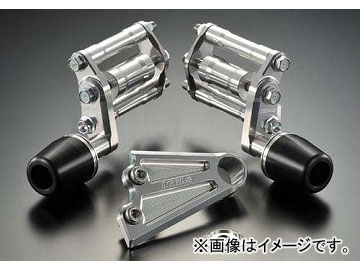 2輪アグラスリアスライダーエンジンハンガーセット品番:P052-9103ホワイトホンダCB1300SFSC542003年~2009年JAN:4548664859634