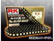 2輪 RK EXCEL シールチェーン BL ブラック BL520R-XW 102L SG350 グース SP370 C/N SP400