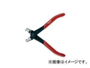 トップトゥル/TOPTUL Clic-R タイプ バンドプライヤー 180mm JEAE0107