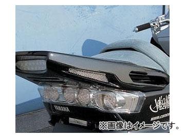 2輪サインハウスカムストックリアスポイラー(LEDタイプ)ドラッグボンバー00051140無塗装ヤマハマジェスティー2502000年〜2006年