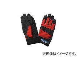 川西工業/KAWANISHI PUファントム #2973 レッド サイズ:M〜LL 入数:10双