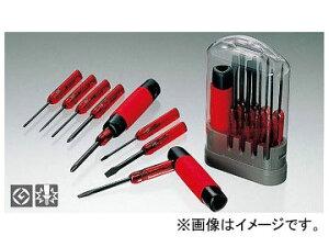 アネックス/ANEX スーパーラバーグリップ8本組 ドライバーセット No.6900 JAN:4962485101145