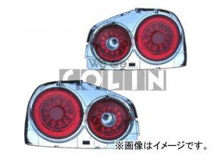 コーリン/COLIN シャーク/SHARK LEDスーパーユーロテール 赤/白 NI3-601 ニッサン/日産/NISSAN ...