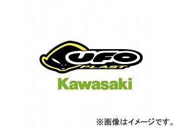 2輪ダートフリークユーフォーリプレースメントプラスチックサイドパネルUF-2713KXグリーンカワサキKDX200R/SR1989年~1994年
