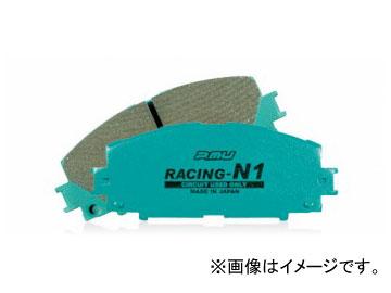 Projectμ ブレーキパッド フロント RACING-N1 F717 オプティ クォーレ ミラ L300S L310S L70S L70...