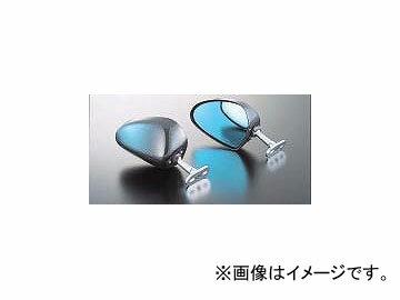 2輪 マジカルレーシング ミラー タイプ-2 ヘッド P034-6196 ブラック カワサキ ZZR1400 2006年〜