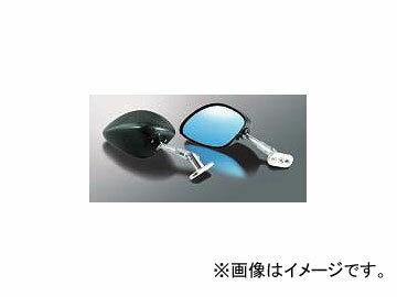 2輪 マジカルレーシング ミラー タイプ-4 ヘッド P028-8142 シルバー ホンダ VTR1000SP1/SP2