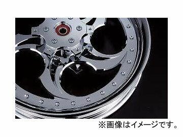 2輪 リズム ホイール OX 18インチ P032-2402 ポリッシュ 550-18 リア offset:7mm ヤマハ V-MAX120...