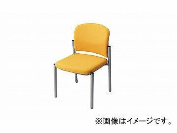 ナイキ/NAIKI会議用チェアーイエローE248F-YE510×535×775mm