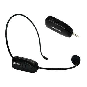 AL デジタル ポータブル 2.4G ワイヤレス マイク 音声ヘッドセット メガホン スピーカーNOV1 AL-AA-2203