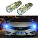 AL 2ピース LED W5W T10 CAN-BUS ライト プロジェクターレン...