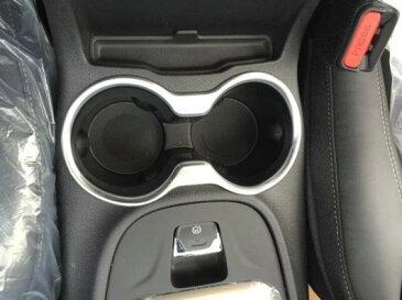 AL ジープチェロキー2014 2015 ABS クローム フロント カップ ウォーター ボトル配置 ホルダー フレーム メッキプラスチックベゼル AL-BB-6603