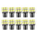 AL 10個 T10 5630/5730 6SMD LED CAN-BUS バルブ 幅ランプサ...