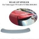 AL 車用外装パーツ 適用: MK6 リア ルーフ スポイラー ウイン...