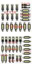 AL 車用 内装 LED ライト キット 適用: シボレー/CHEVROLET ...