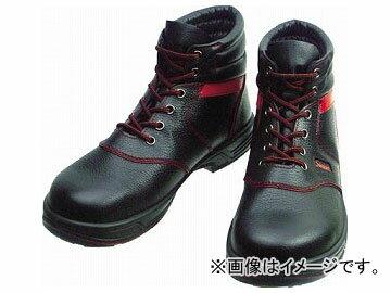 シモン安全靴編上靴SL22-R黒/赤26.0cmSL22R-26.0(3255671)