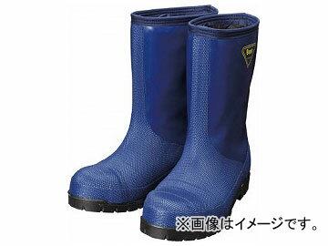 SHIBATA冷蔵庫用長靴-40℃NR02127.0ネイビーNR021-27.0(8190388)