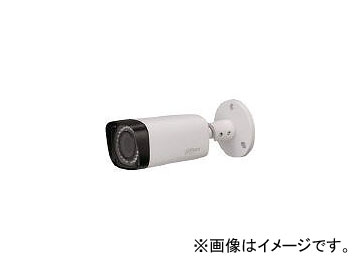 Dahua 2.4M IR防水バレット型カメラ φ65×154.7 ホワイト DH-HAC-HFW2220SN-0360B(8193343):オートパーツエージェンシー2号店