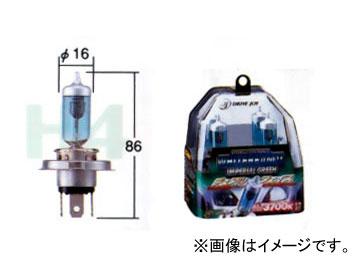 トヨタ/タクティー ヘッドランプ(ハイビーム)用バルブ ホワイトビームII インペリアルグリーン H4(HB2) V9119-3030 入数:2個 ダイハツ テリオス キッド