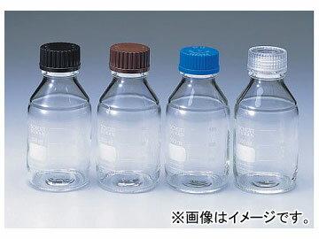 アズワン/AS ONE ねじ口瓶丸型白(デュラン(R)) 青キャップ付き/50ml 品番:2-077-01