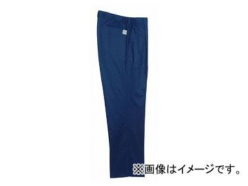 ラカン 脇ゴムツータックスラックス ネイビー 選べる2サイズ E1301