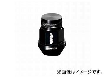 デジキャン アルミレーシングナット ブラック 19HEX袋 P1.5 35mm 入数:1セット(16本入) トヨタ カローラフィールダー