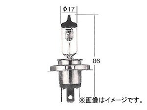 トヨタ/タクティー/TACTI ハロゲンヘッド球 ノーマル H4U 12 60/55W P43t-38改 V9119-2012