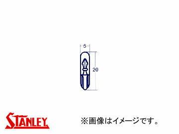 スタンレー/STANLEY ウェッジベース電球 12V 2W WB358 入数:10個